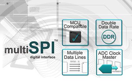 multiSPI数字接口概述—简化与MCU处理器及FPGA的连接
