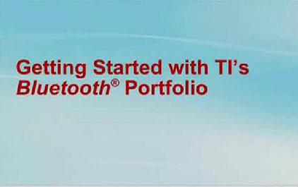TI Bluetooth整体解决方案详细介绍2