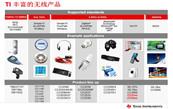 TI 无线产品介绍